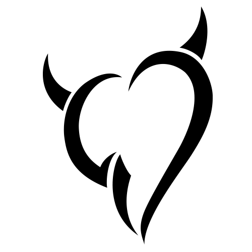 Tribal Devil Heart